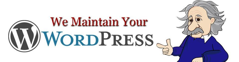 We Maintain Your WordPress