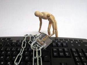Ransomware locked system