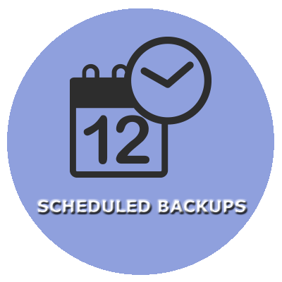 SCHEDULED BACKUPS