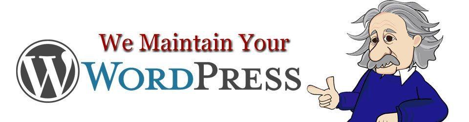 We Maintain Your WordPress